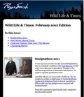Image for 'Feb. '12 Issue of Wildlife & Times' announcement.
